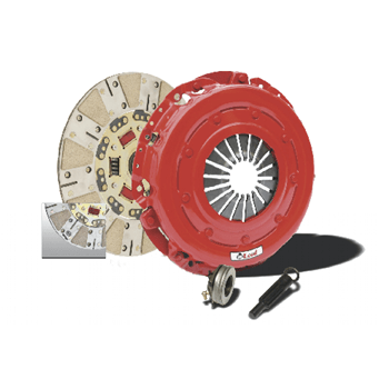 McLeod 75323 Single Disc Street Extreme Clutch Kit With Billet Steel Flywheel