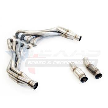 "2016+ Camaro SS 1-7/8"" Stainless Steel Long Tube Headers & Off-Road Connection Pipes"