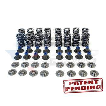 "TSP .660"" POLISHED Dual Spring Kit w/ PAC Valve Springs, Titanium Retainers, & PRC Integrated Seat/Seal"