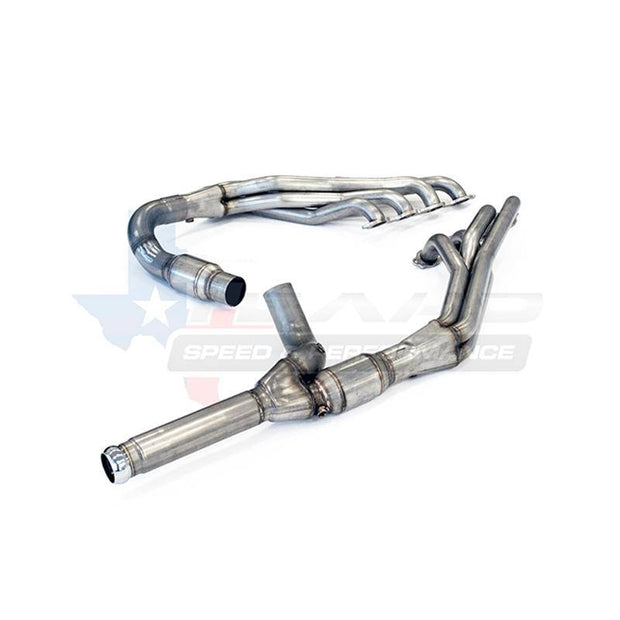 "TSP 2014+ Chevy/GMC 1-7/8"" 304 Stainless Steel Long Tube Headers & 5.3L Off-Road Y-Pipe"