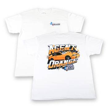 mailordertuner.com finest agent orange tshirt for the LSX tuner Casey Rance who tunes for Texas Speed and Perforamance