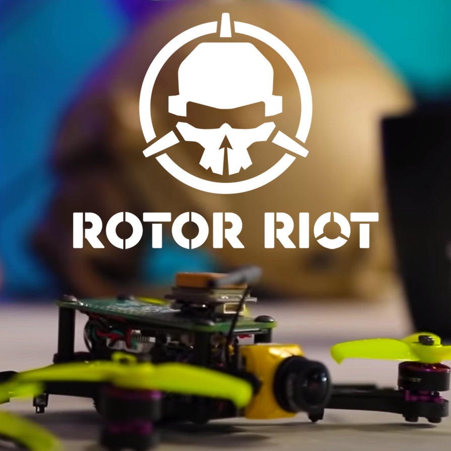 Rotor Riot gets a Pi in the Sky - MicroHawk Debut