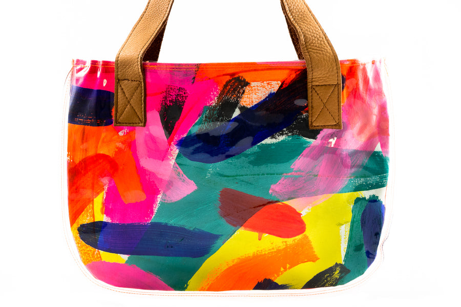 Hand Painted Tote - Home and Tribe