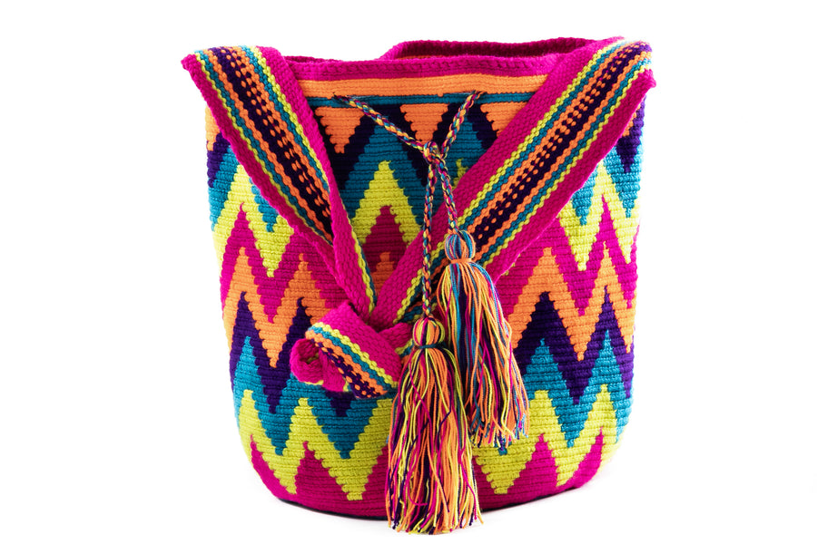 Mochilas Wayuu Cross Body Bag - Home and Tribe