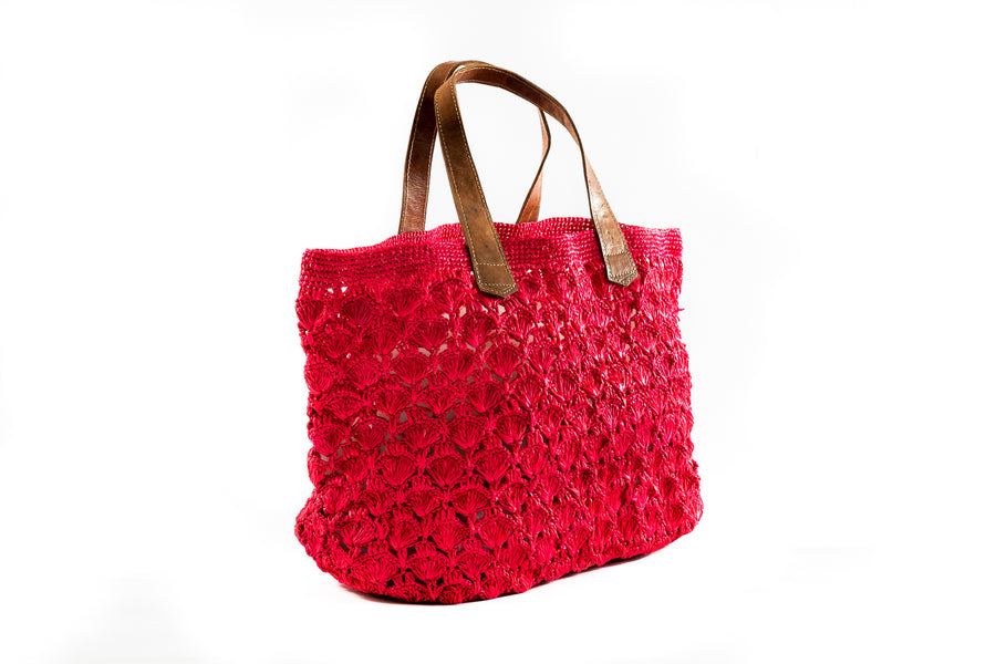 Persian Red Fan Tote Bag - Home and Tribe