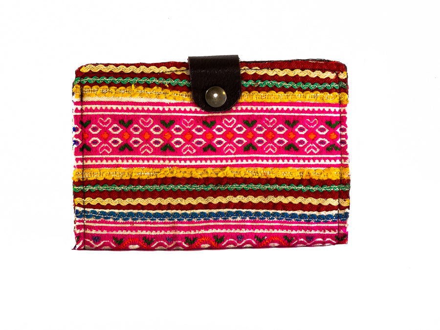 Bohemian Embroidered Passport Holder - Home and Tribe