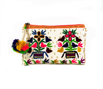 Beaded Tassel Clutch - Home and Tribe