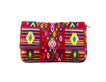 Huipil Embroidered Clutch - Home and Tribe