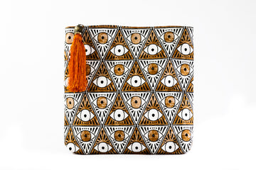 Evil Eye Folded Clutch - Home and Tribe