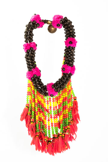 Beaded Hmong Necklace - Home and Tribe