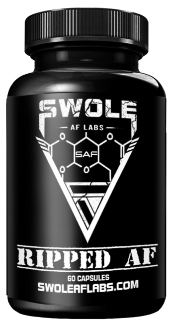 Swole AF Labs RIPPED AF 3 in 1 Stack Capsules