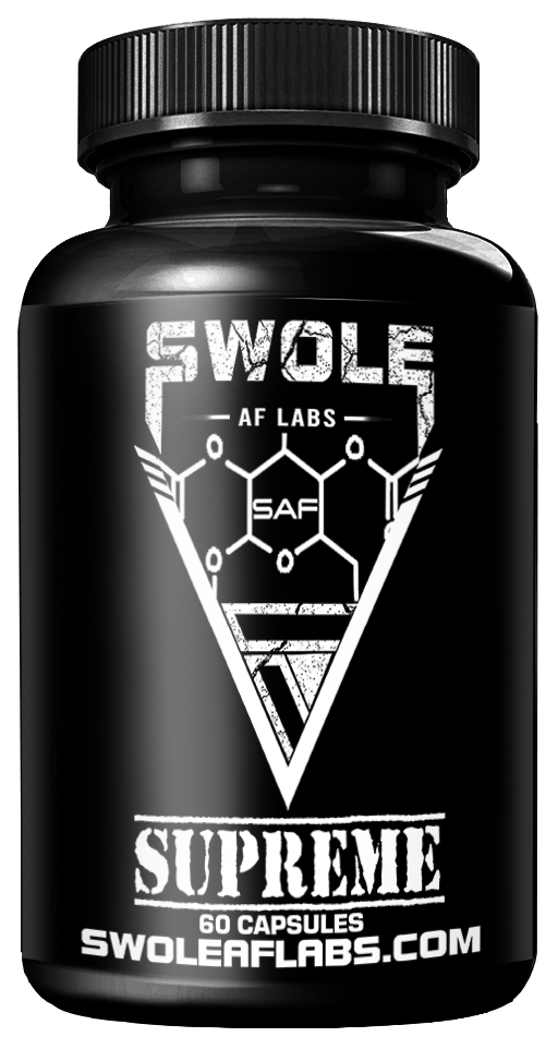 Swole AF Labs Supreme 2 in 1 Stack capsules