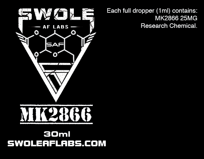 Swole AF Labs MK2866 25MG 30ml Dropper
