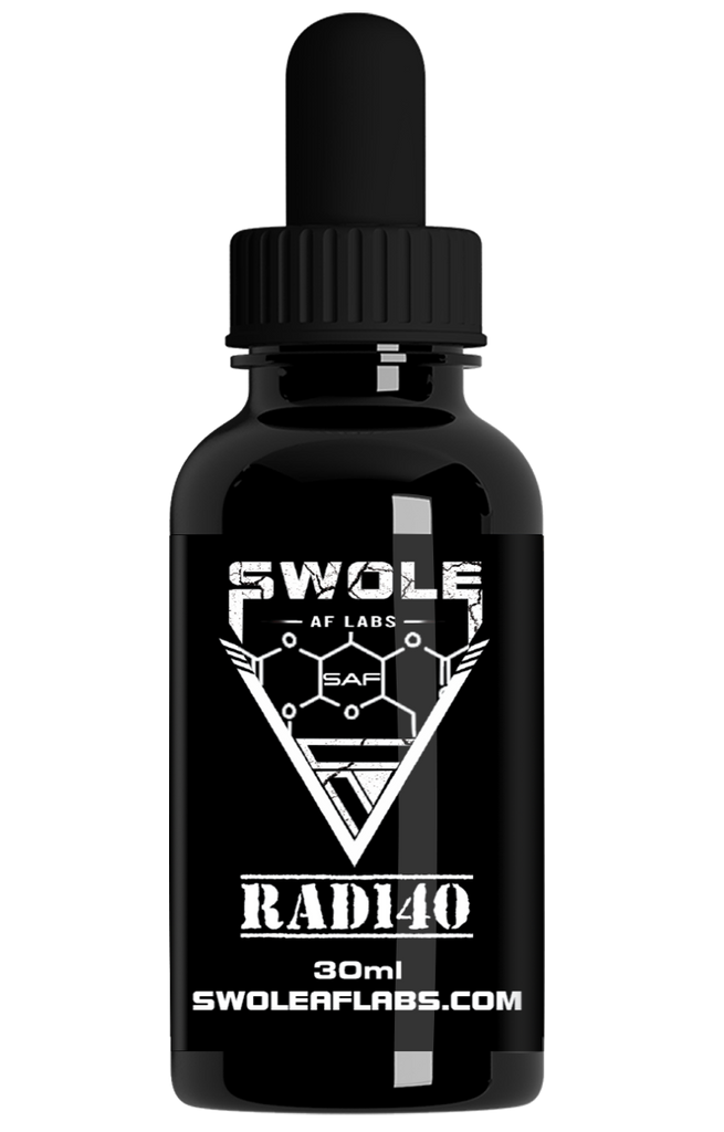Swole AF Labs RAD140 Testolone 30ml Dropper