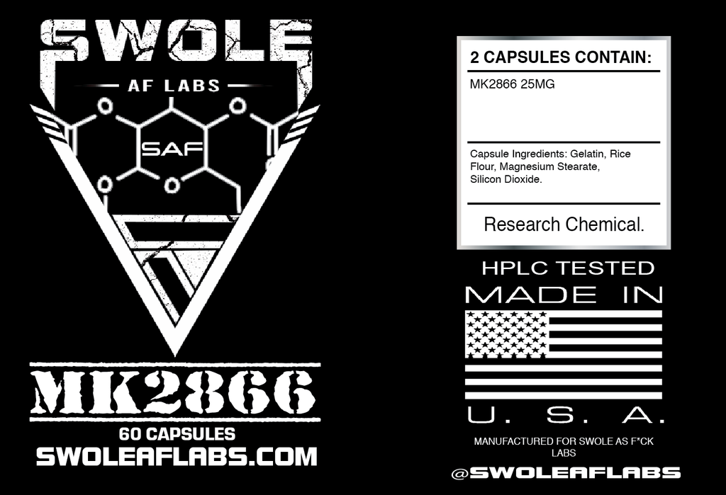 Swole AF Labs MK2866 25MG Capsules