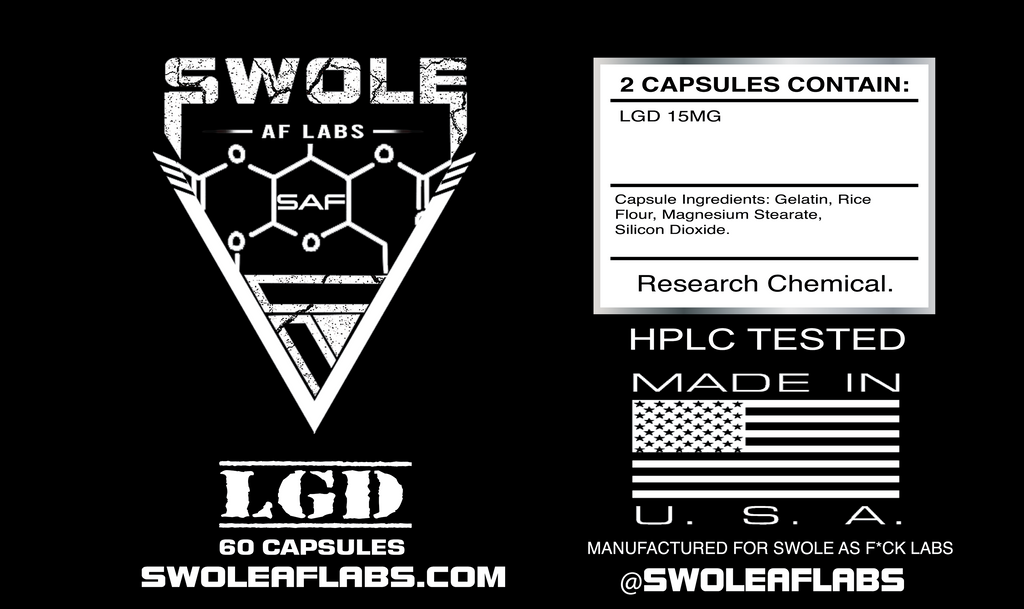 Swole AF Labs LGD 15MG Capsules