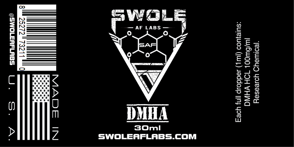 Swole AF Labs DMHA 100mg/ml