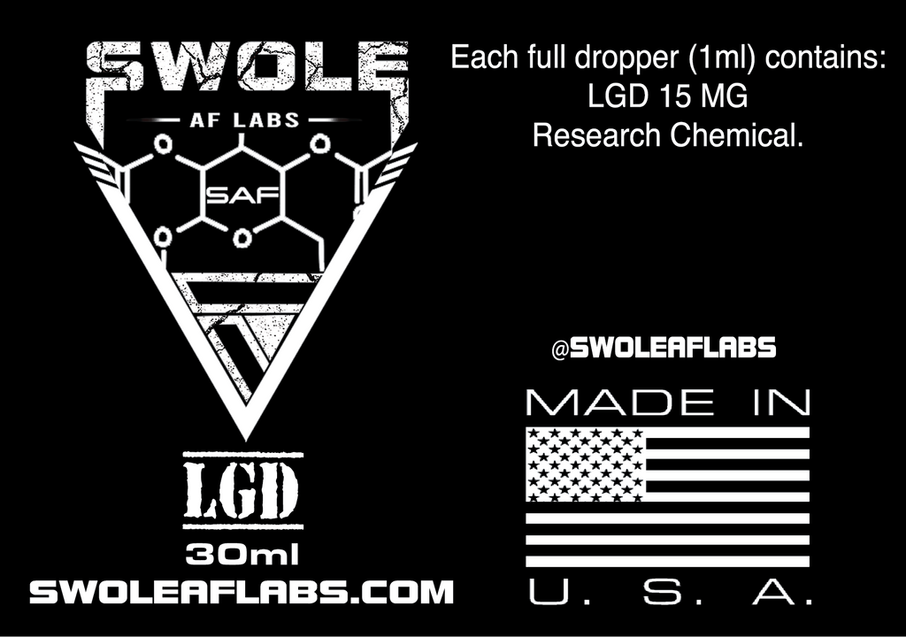 Swole AF Labs LGD 15MG 30ml Dropper