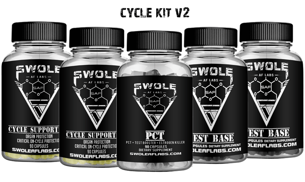 Swole AF Labs  Cycle Kit V2 Capsules