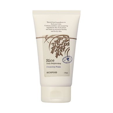 RICE DAILY BRIGHTENING CLEANSING FOAM