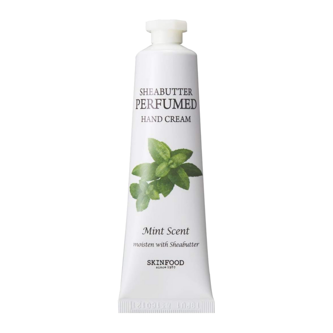 Sheabutter Perfumed Hand Cream (Mint)
