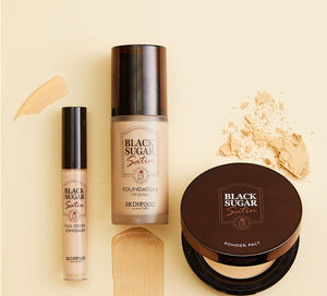 Black Sugar Satin Foundation SPF20 PA+