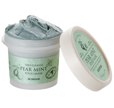 Deep Cleanse Pear Mint Food Mask
