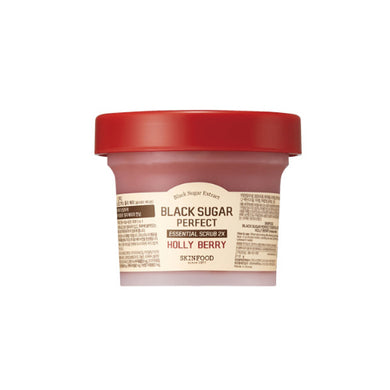 Black Sugar Perfect Essential Scrub 2X Hollyberry Holiday Edition