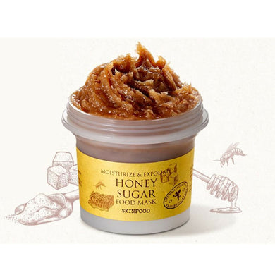 Moisturize & Exfoliate Honey Sugar Food Mask