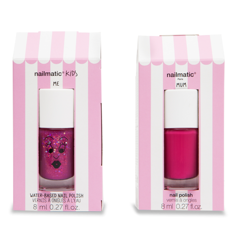 nailmatic - Mum & Me Nail Polish Set - Sheepy and Paloma