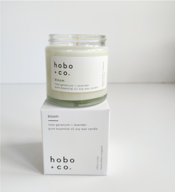 Bloom Essential Oil Candle