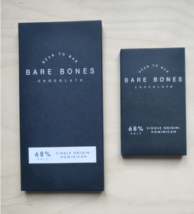 Bare Bones Chocolate - Dominican 68% Salt