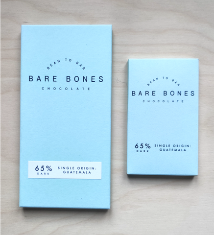 Bare Bones Chocolate - Guatemala 65% Dark