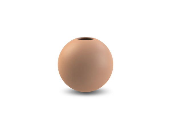 Ball Vase 8cm (Cafe au Lait)
