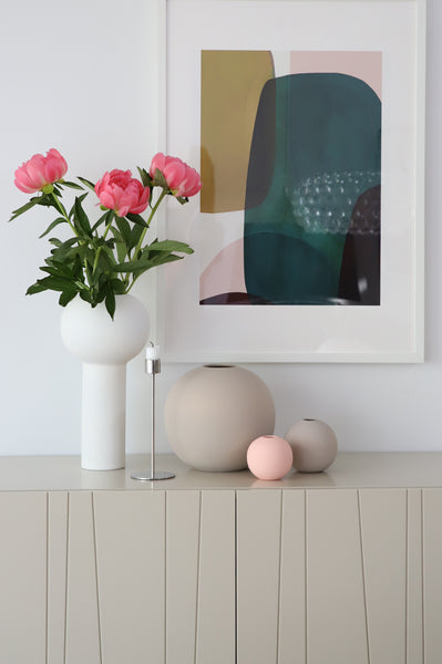 Ball Vase 10cm (Grey)