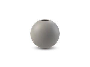 Ball Vase 8cm (Grey)
