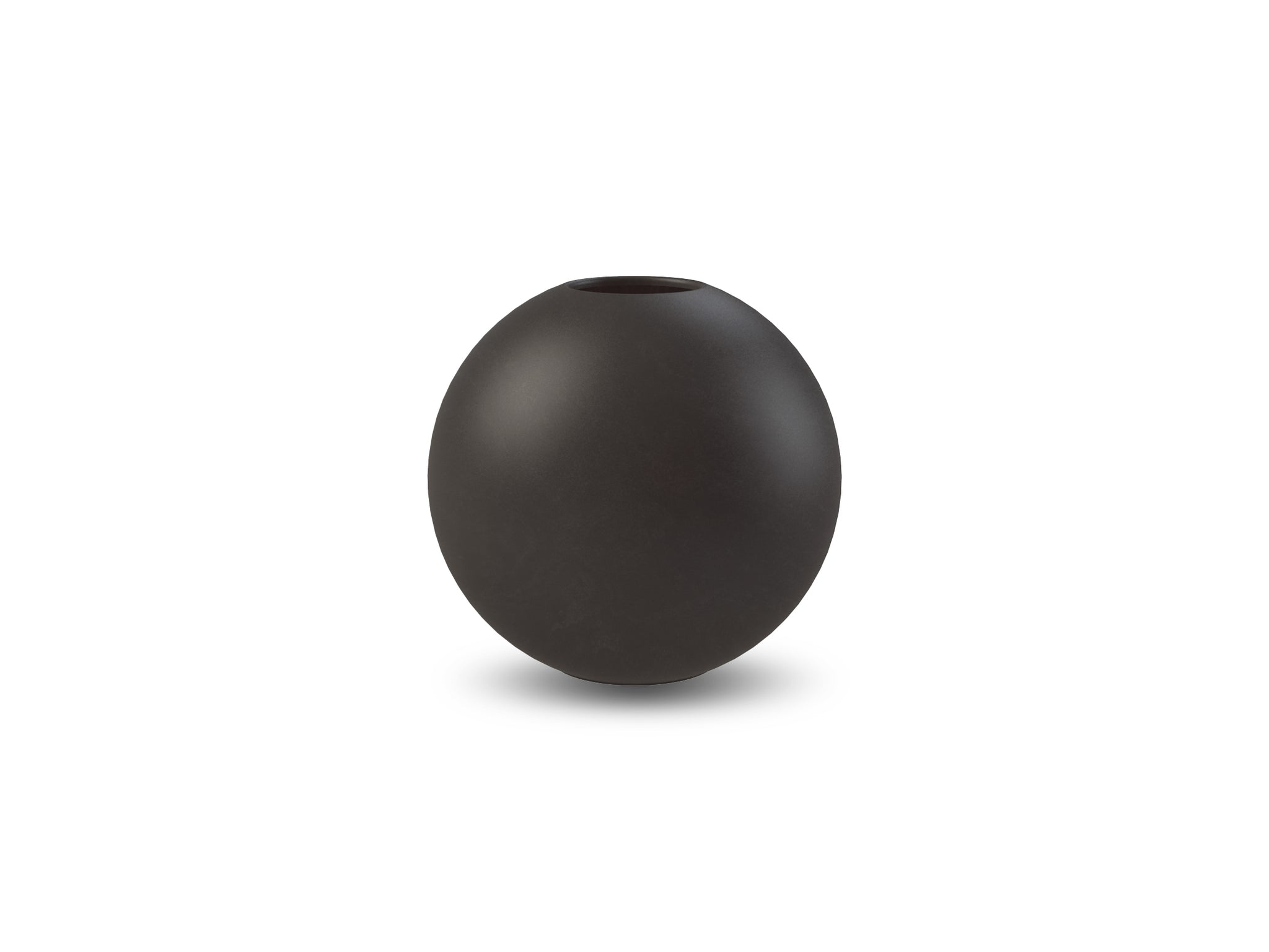 Ball Vase 8cm (Black)