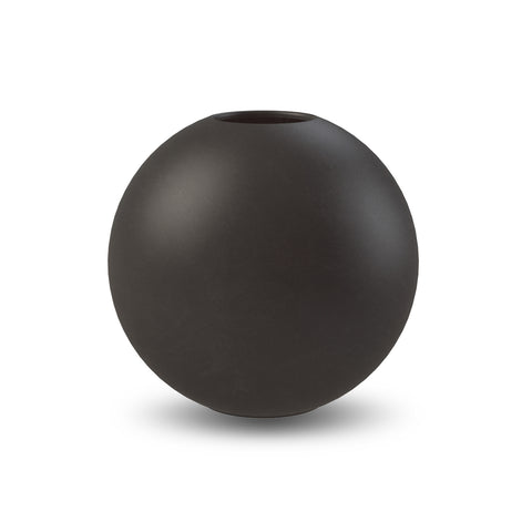 Ball Vase 20cm (Black)