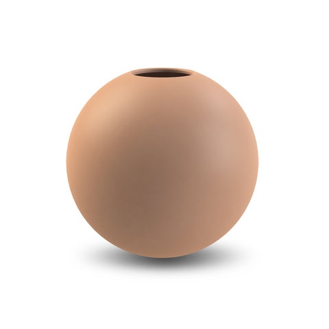Ball Vase 20cm (Cafe au Lait)