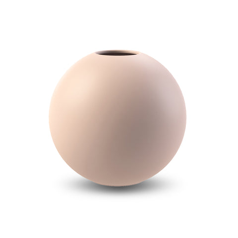Ball Vase 20cm (Dusty Pink)