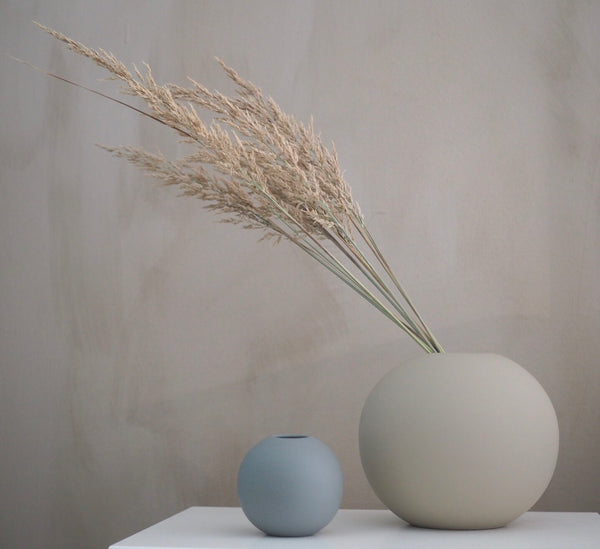 Ball Vase 20cm (Grey)