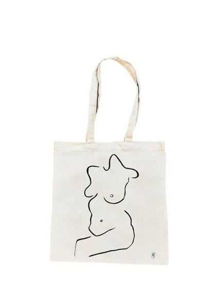 Sitting Pretty Tote Bag
