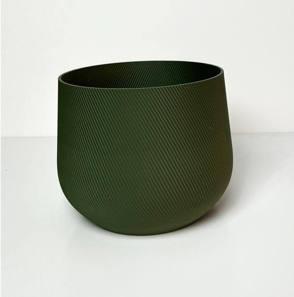 Juniper Indoor Planter - Large - Olive Green