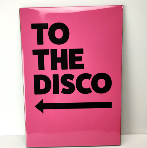 To The Disco - Alternate Left Arrow