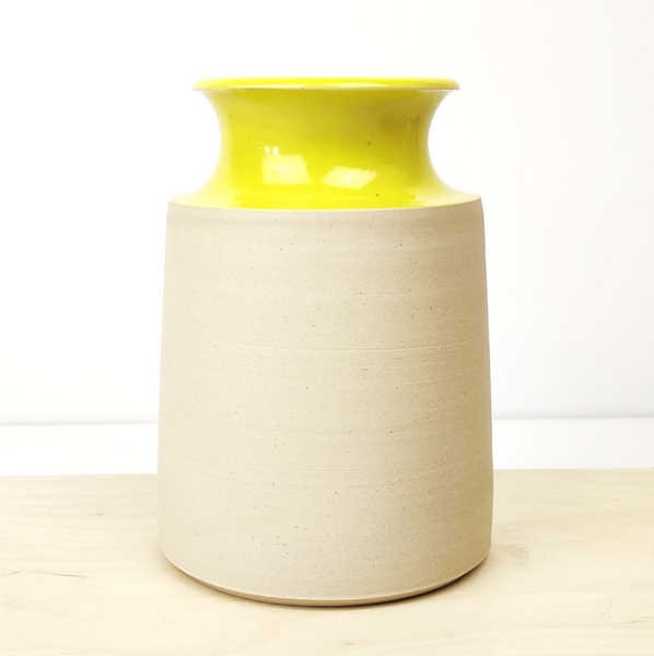 Large Vase - Yellow