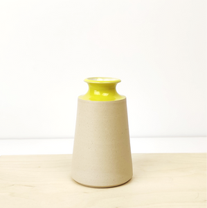 Small Vase - Yellow