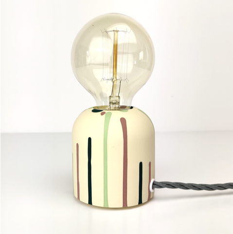 "Randomness ""Jesmonite"" Table Lamp"