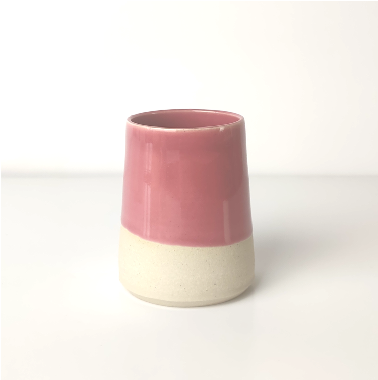 Make-up Brush/Toothbrush Holder - Pink
