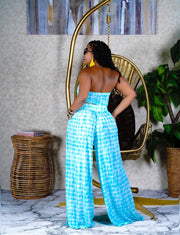 Aqua 2 piece pants set