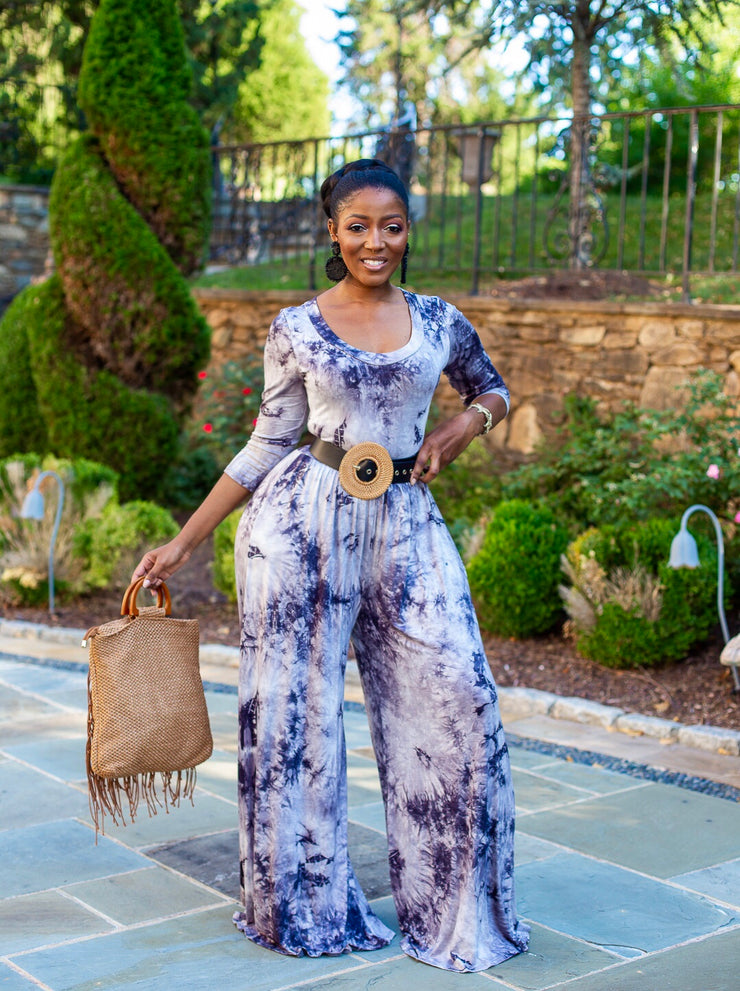 Tasha wide leg jumpsuit